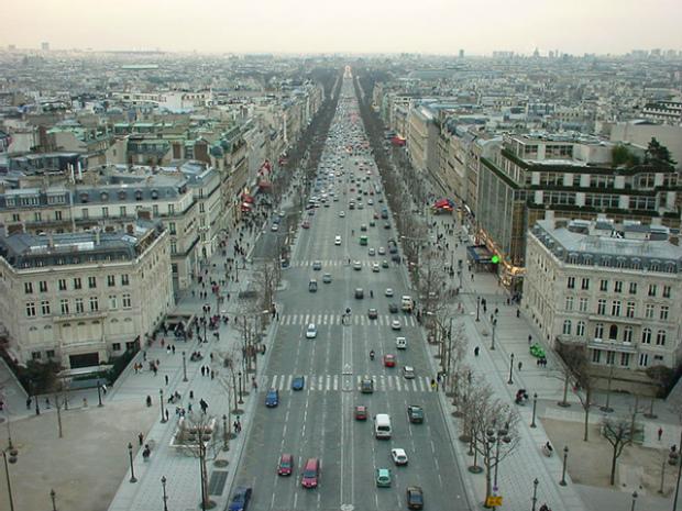 木村さんが見たパリの街
