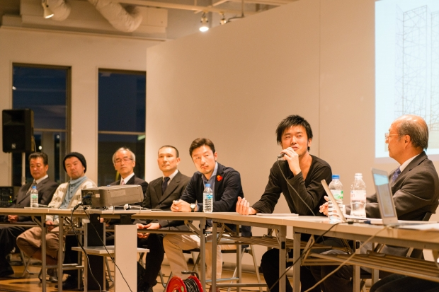 トークイベント:作品コンセプトから制作秘話まで各々のストーリーをお話頂く photo by Toshiyuki Udagwa