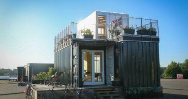北欧発、コンテナをおしゃれに使いこなす!学生のための家「CPH Shelter」