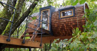 環境にも樹にもやさしい、オーダーメイドのツリーハウスメーカー「Bower House Construction」