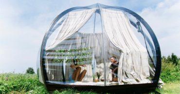 俗世を楽しむ、ラグジュアリーなテント生活「Oasis」