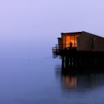 湖に一番近い部屋、スイスの水上ホテル「Hotel Palafitte」