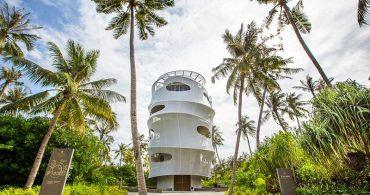 楽園バージョンの高層ビル!?巨大な生物のような「Tavaru Restaurant 」