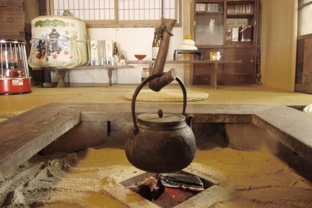 囲炉裏の風景