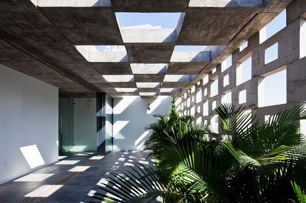 伝統とモダンが融合した、アートのような二世帯住宅 「Binh Thanh House」