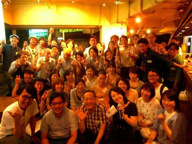 「YADOKARI PARTY Vol.3」:開催3回目となると100名近いメンバーが全国から集い、メンバー同士、積極的に声をかけながらそれぞれの活動へ繋がっていきます