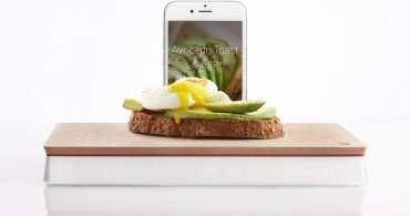 カロリーや栄養バランスが一目でわかるハイテクスケール「Prep Pad」