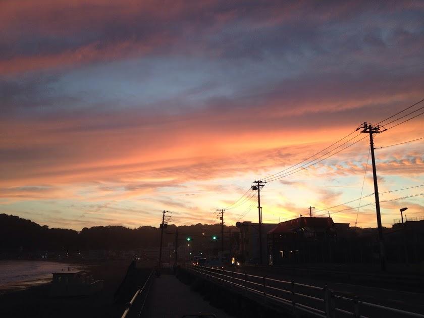 海がある鎌倉の風景は音楽創作活動に適している