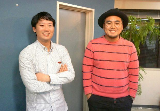 右から株式会社まちづクリエイティブ代表取締役の寺井元一さん、クリエイティブ・ディレクターの小田雄太さん。