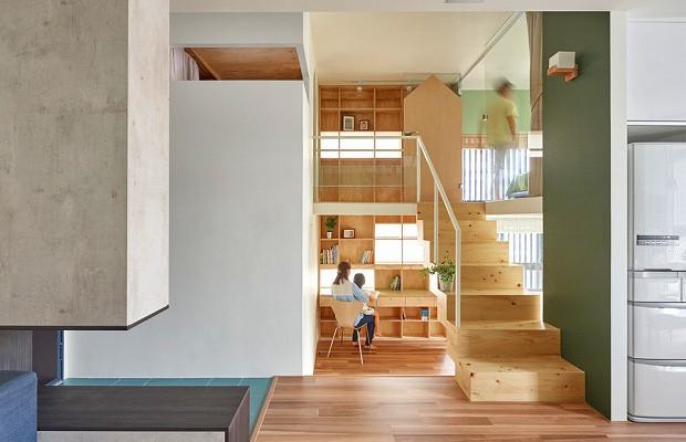 すっきり四角・洗練された潔さを楽しむアパート「Block Village」/HAO Design