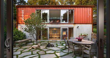 10週間で完成!デザイン性にも優れた、広々コンテナハウス「Quick House」