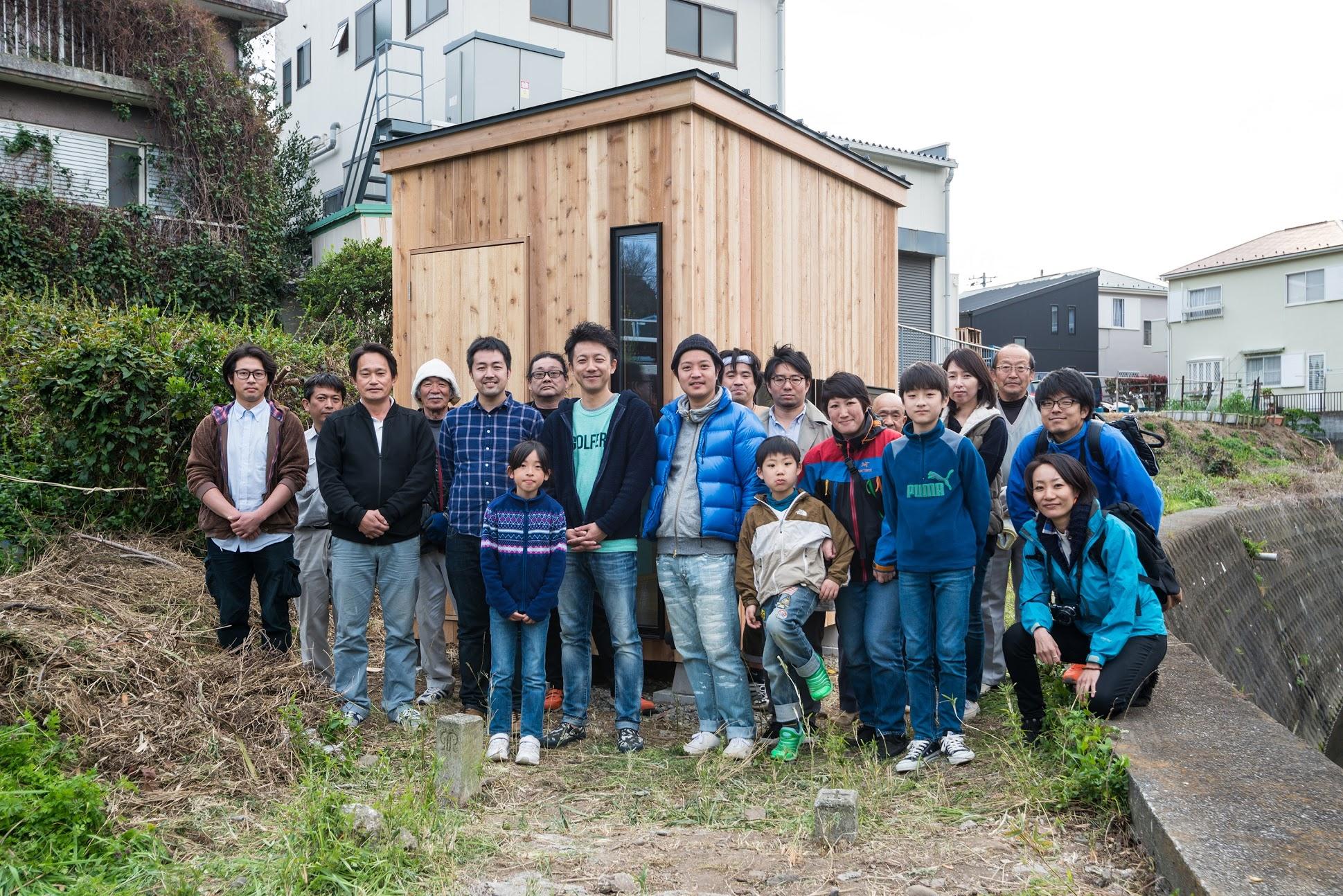 【購入可能:組み立ててみた】まるでプラモデル。建設しない小屋づくり「スケルトンハット」