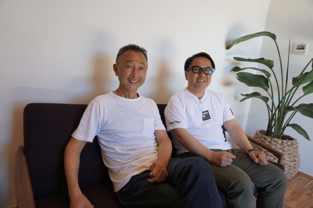 今回お話をうかがった「LIFE DESIGN CHIVA」のメンバー左・須藤さんと右・野口さん