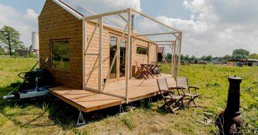 オランダのタイニーハウスムーブメントの立役者が建てた「Marjolein in het klein」