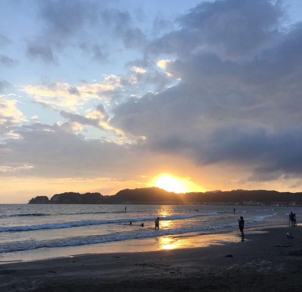 さすがに五島の海には負けますが、ビーチの側での暮らしはとても穏やかで心地よいです。