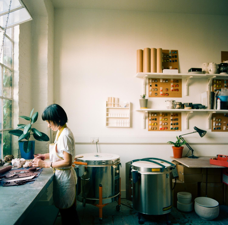 ロンドンで活動する日本人アーティスト、宮崎千絵