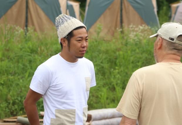 ボランティアの悩みに耳を傾ける池田さん
