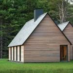 自然とのハーモニーを奏でるコテージ群「Marlboro Music: Five Cottages」
