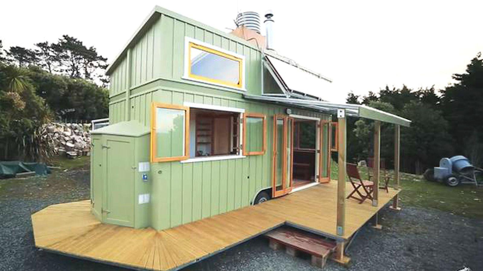 快適な暮らしを叶えるタイニーハウス「Custom Tiny House」