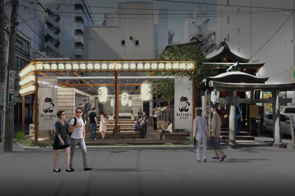 BETTARA STAND 日本橋 – タイニーハウス・小屋 / イベント&スタンドバー施設 –