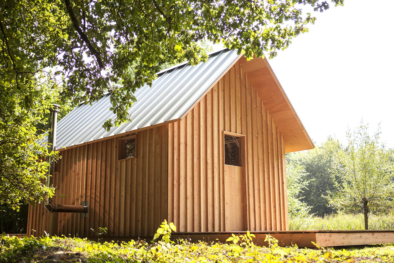 伸び縮みできる家!? オランダで発見したガーデンハウス