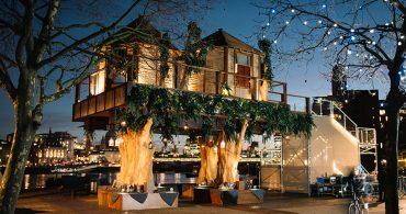 大都市ロンドンにツリーハウスが出現!?「treehouse in London」