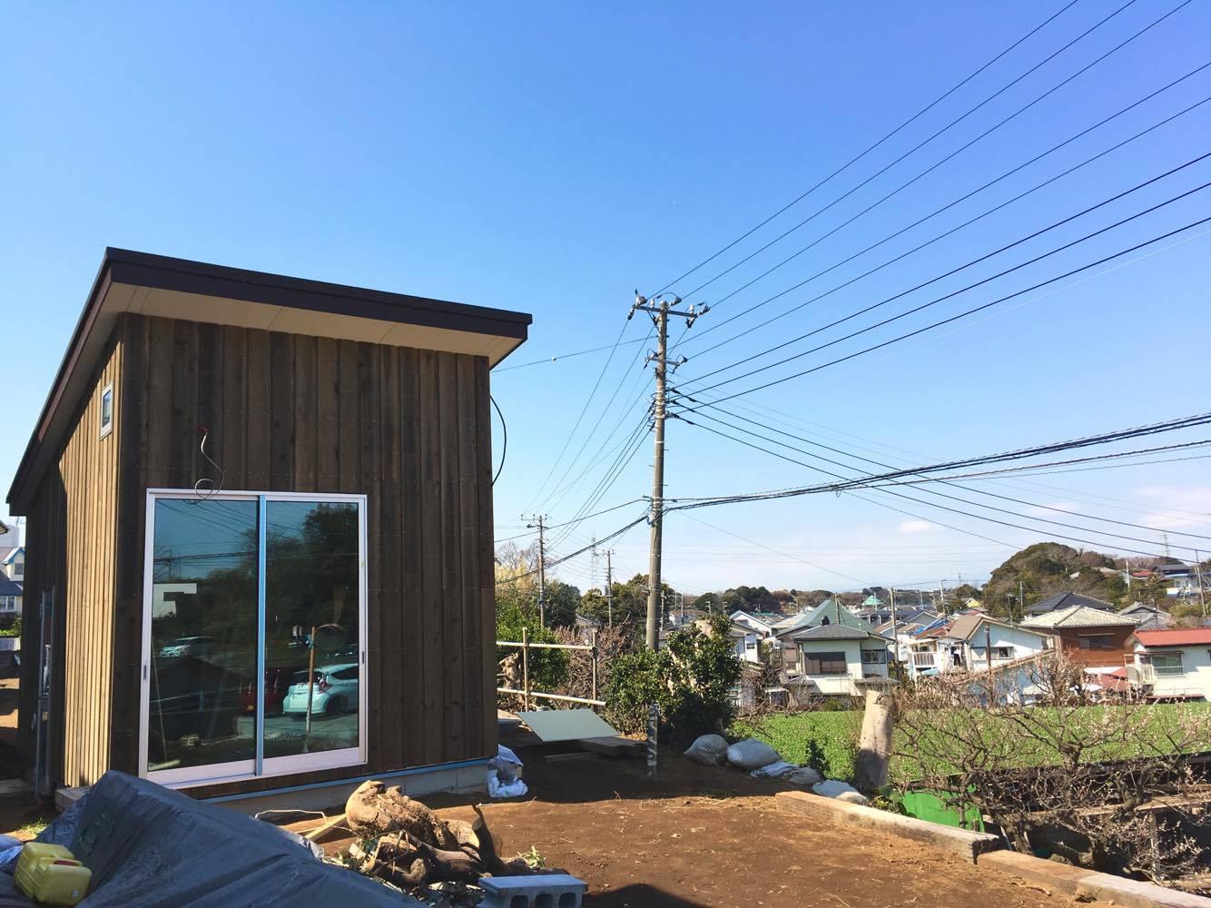"YADOKARIサポーターの""小屋づくり""実践編|Case.2 Imbe Rinako"
