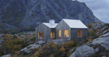 極北の地、最果ての「島」が舞台。絶景を主役にした小さな家