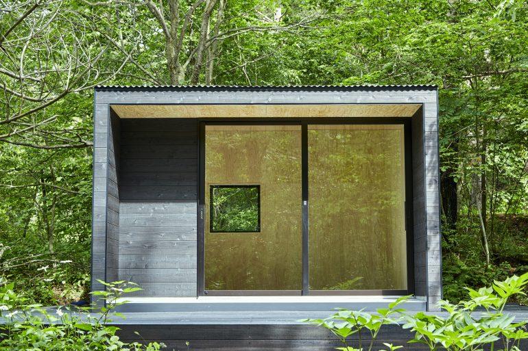まっさらな「無印の小屋」に泊まる。『無印良品カンパーニャ嬬恋キャンプ場』