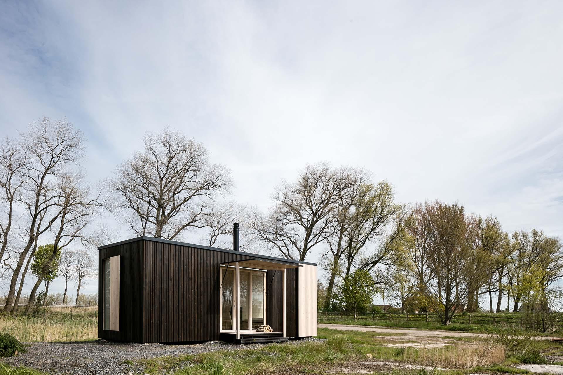 ストレスフルな社会から脱出するためのスモールハウス。現代の方舟「Ark Shelter」