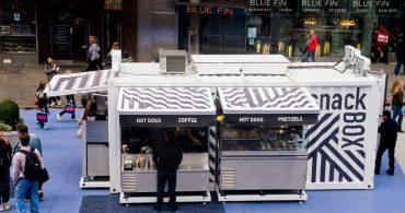 コンテナが持つ可能性。NY・タイムズスクエアにあるホットドッグショップ