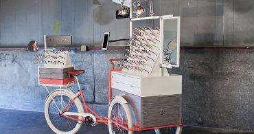 三輪車でメガネを売るというチャレンジ。Rivet&Swayに学ぶ小商い