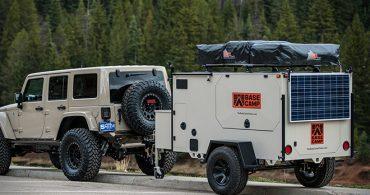 険しい山道もなんのその!サバイバルな旅のお供「Base Camp Trailer」