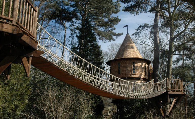 大人の時間、子どもの冒険。オーダーメイドのツリーハウスの2つの贅沢