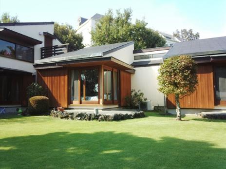 芝と海と半分の空・間取り3SLDK・モダンデザイナーズハウス