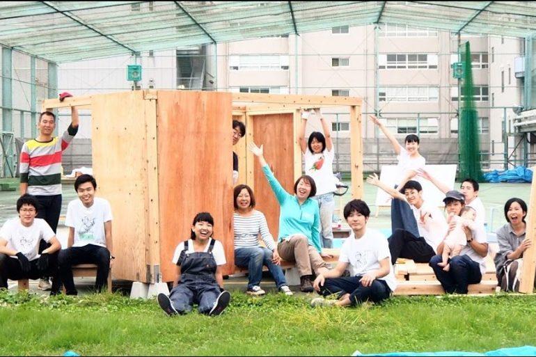 10/8(日)まで見学会開催中!断熱タイニーハウス制作プロジェクトを応援しよう!