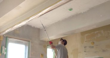 #34 進んでいます。しっかりリノベ〜お部屋の塗装とモルタル塗り〜|YADOKARI✕公社二宮団地
