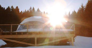 エコロジーとラグジュアリーの共存。スイス発宿泊スペース「ホワイトポッド」
