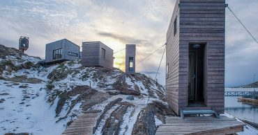 ノルウェー、極寒の地の合宿施設「fordypningsrommet fleinvaer」