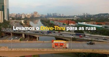 マクドナルド・ブラジルの走るドライブスルー「Drive-Thruck」