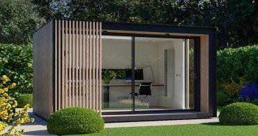 Apple製品が似合うデザイン。イギリスのガーデンハウス「Lite Pod」