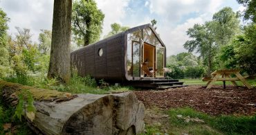 未来の家の可能性、ダンボールハウス「Wikkelhouse」