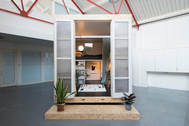 若者の住宅問題からホームレス・難民の宿泊まで。ロンドンのマイクロホーム「SHED」プロジェクト