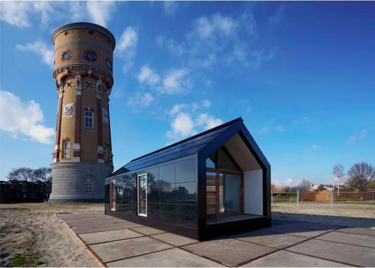 望んだ場所で生きる。オランダの持続可能なプレハブハウス「petit place」