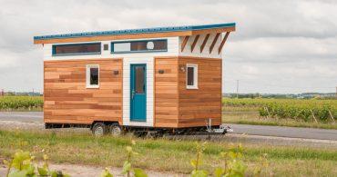 豊かでスタイリッシュな暮らしをイメージしたくなるトレーラー「Tiny House Valhalla」