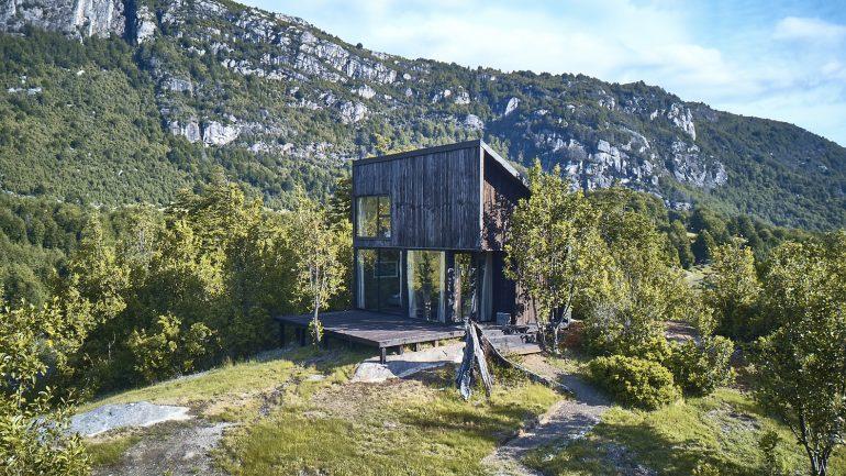 自然が一望できる小屋。チリで見つけた「House GZ2」