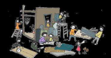 小屋×都市 #04 仲間をつくる小屋|都市を科学する〜小屋編〜 – オンデザインパートナーズ×YADOKARI