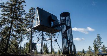 スカンジナビアの暮らしが息づく三角形のツリーハウス「PAN Treetop Cabins」