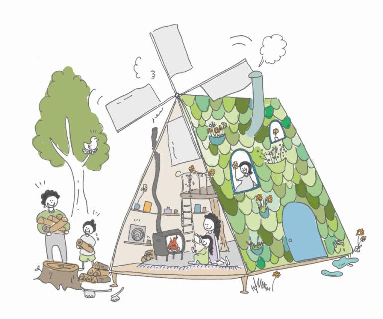 小屋×都市 #11 オフグリッド、自給自足の小屋|都市を科学する〜小屋編〜 – オンデザインパートナーズ×YADOKARI