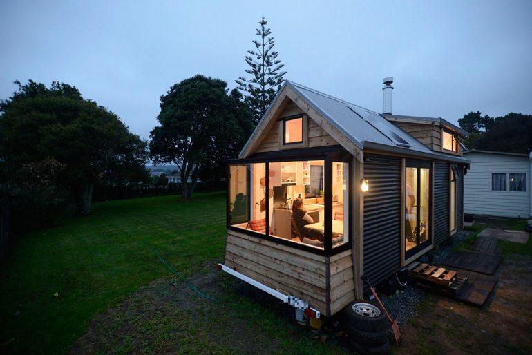 【タイニーハウス住人インタビュー】住宅難もなんのその!NZのタイニーハウス